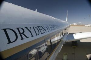 Test flight from Dryden