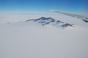Hudson Mountains on Pine Island glacier