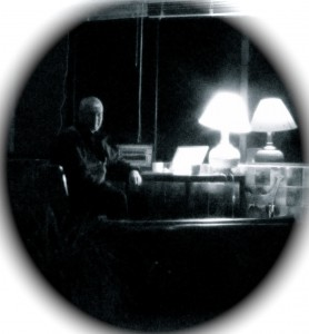 Nick Frearson as 'Night Watchman' for the gravimeter.