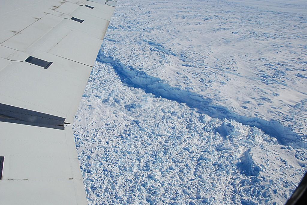 Calving Front of Pine Island Glacier