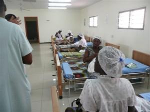 One of two new neonatal clinics in Kumasi, Ghana.