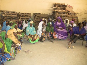 Community planning meeting in Segou, Mali