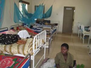 The maternity ward at Kabuyanda Health Center