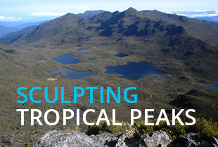 Sculpting Tropical Peaks