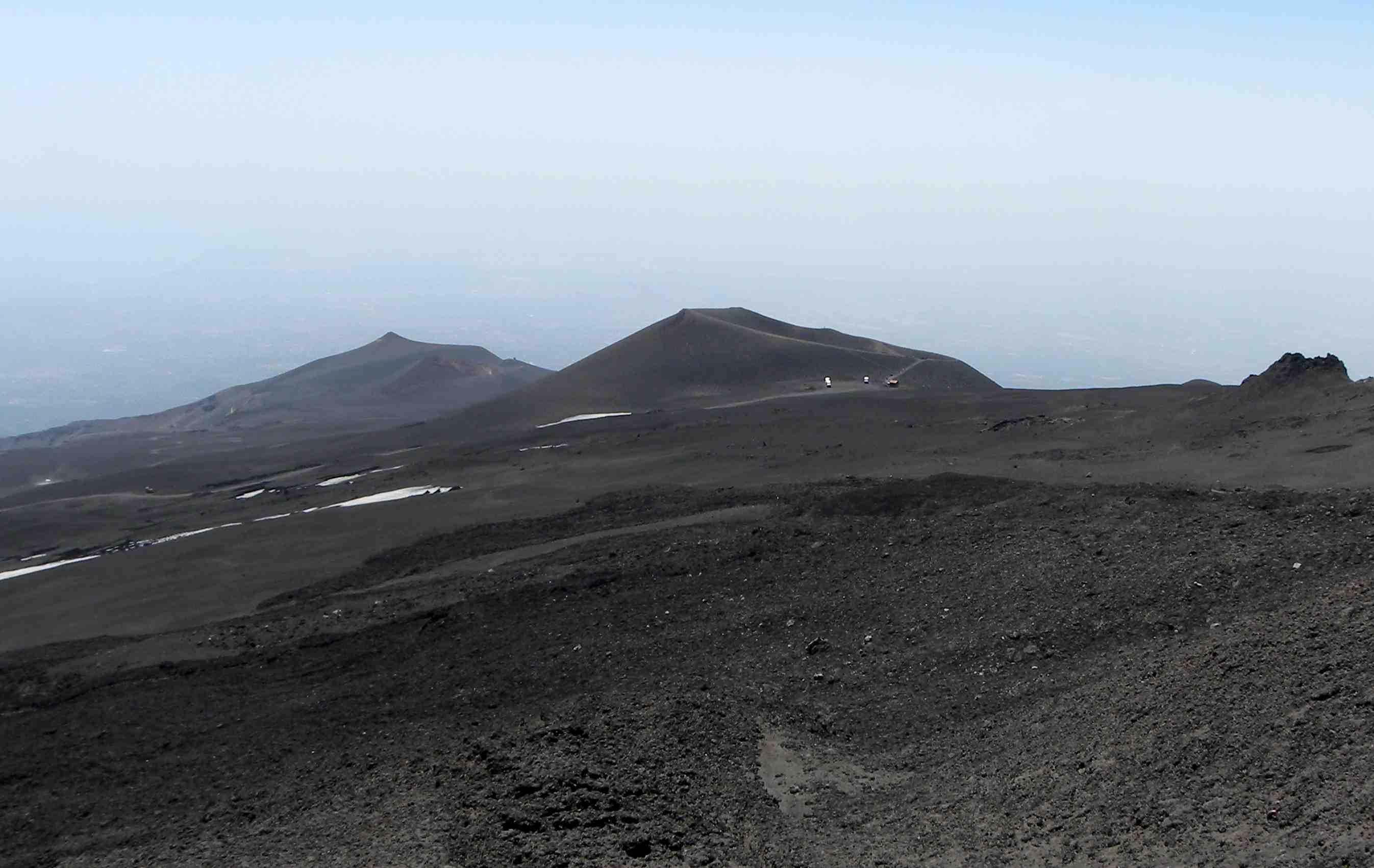 etna s changing landscape