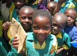 Children in the Millennium Villages participate in comprehensive in-school health programs (Photo credit: Naomi Handa-Williams)