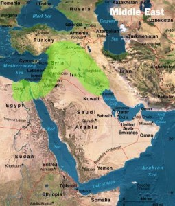 Parched for Peace The Fertile Crescent Might Be Barren