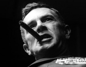 Jack D. Ripper: preserve our precious bodily fluids. Source: Columbia Pictures