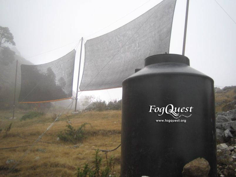 The Fog Collectors: Harvesting Water From Thin Air