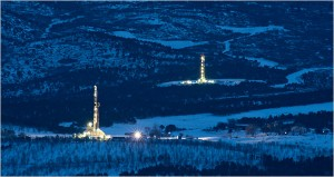 Hydrofracking makes natural gas more attainable but at the same time puts a strain on our drinking water.