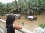 Flooded Homes in the Philippines: Photo courtesy of hoo2ya via Global Voices