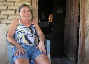 Roza Maria Pinheiro, secretary of the residents' association in Ingá.