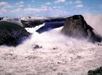 Teton Dam, in Southeastern Idaho, collapsed on May 5, 1976, killing 14 people. Photo courtesy U.S. Bureau of Reclamation
