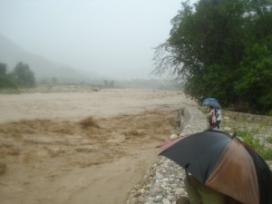 Flooding South of Haiti