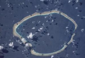 NASA astronaut image of Kilinailau, also known as Tulun or Carteret Islands, Papua New Guinea. Photo: Image Science & Analysis Laboratory, NASA Johnson Space Center