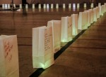 Luminaries to honor loved ones.