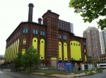 The Hudson & Manhattan Railroad Powerhouse-Jersey City, NJ ~ Photo by Maria Coler