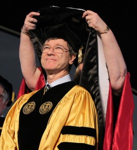Jeffrey Sachs, honorary doctorate, Bryant University