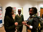 Raquel Solomon led a workshop on sustainable development for high school students in Johannesburg on June 6.
