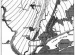 A classic map of the ice lobe that covered the New York metro area until the end of the last ice age. (R.D. Salisbury, 1902)