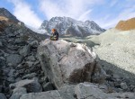Irene Schimmelpfennig sampled moraines on Switzerland's Tsidjiore Nouve Glacier in 2010 to measure its ebb and flow in the last 10,000 years.