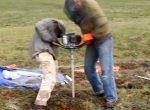 Drilling Permafrost Peat at Imnavait Creek