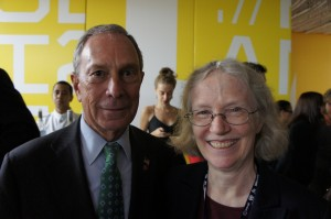 Mayor Bloomberg, Cynthia Rosenzweig