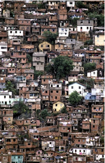 Rio de Janeiro, slum
