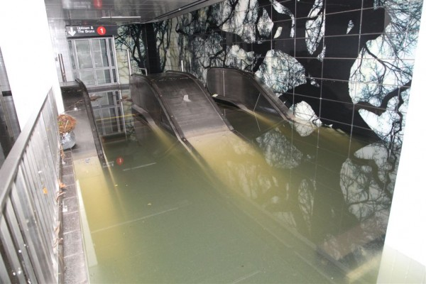 Hurricane Sandy, New York City, subways, MTA