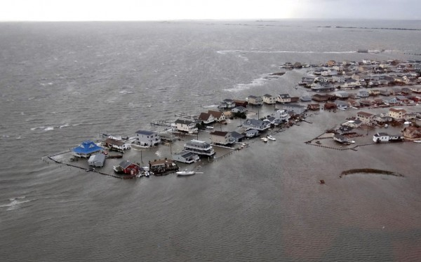 Hurricane Sandy, New Jersey shore