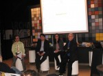 The panelists of February's GreenHomeNYC Forum.