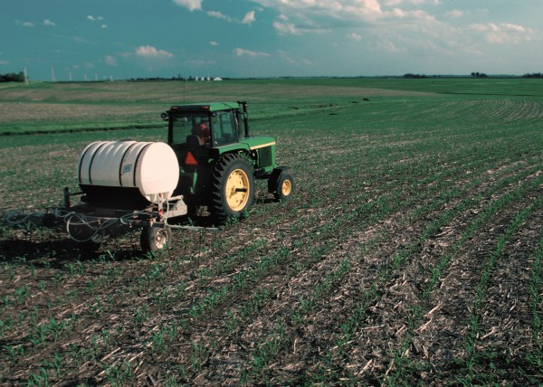 applying phosphorus fertilizer