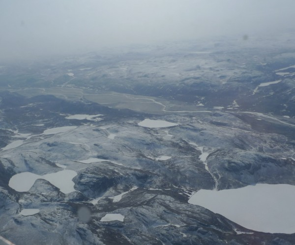 Kangerlussuaq lies at the mouth of the Sondrestrom Fjord in southwest Greenland.