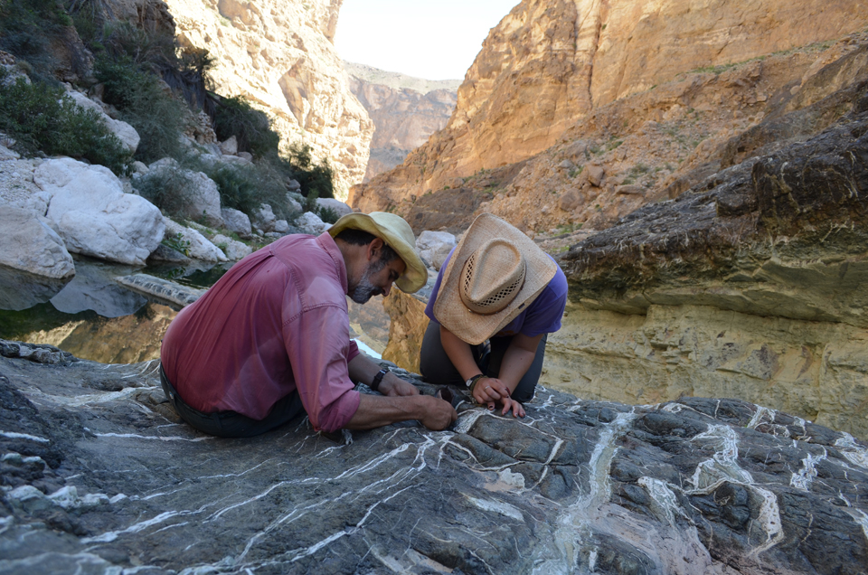 In the Arabian peninsula nation of Oman, geologists are studying the Hajar mountains--a range containing rocks that have been thrust up from the deep earth. Accessible to humans in only a few places on earth, these kinds of rocks offer clues to the planet's deep history--and possible ways that natural processes may be harnessed to combat modern climate change.