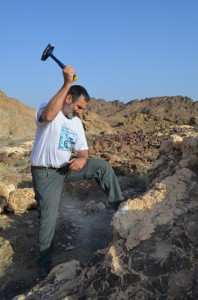 Peter Kelemen, a geologist at Columbia University's Lamont-Doherty Earth Observatory, has worked in Oman for years, along with colleagues, gathering samples, mapping formations and performing experiments back in the lab.