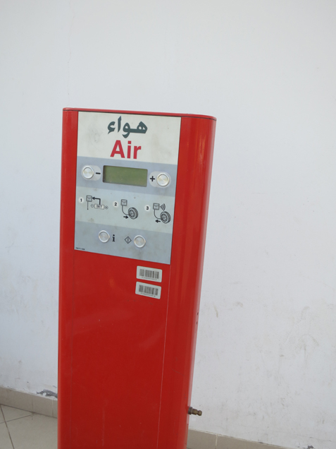 Kelemen thinks that with some engineering, natural carbonate-forming reactions could be corralled and speeded up a million times over. That could allow people to draw massive amounts of CO2 from our overburdened atmosphere and store it underground. This pump at an Omani gas station uses air holding nearly 400 parts per million carbon dioxide--a huge leap over preindustrial time, and a driver of climate change.