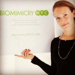 M.S. in Sustainability Management alum Adiel Gavish ('13) is the founder of BiomimicryNYC.
