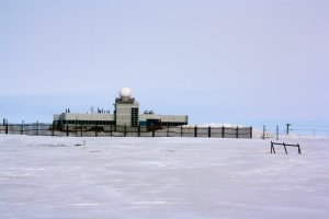 The Barrow Arctic Research Center, home of our lab space.
