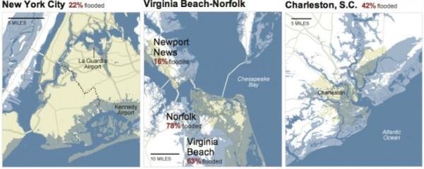 cities, sea level rise