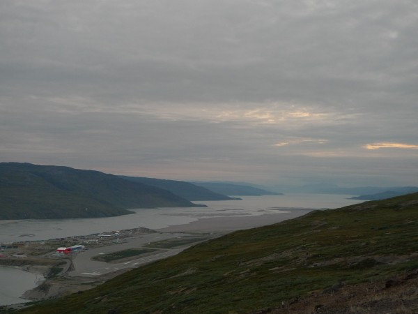 Kangerlussuaq Greenland on the Sondrestrom Fjord. (Photo M. Turrin)
