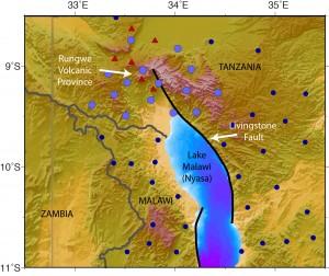 Rungwe seismic deployment