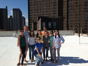 ESP Students Participated In A NYC Cool Roofs Volunteer Day.