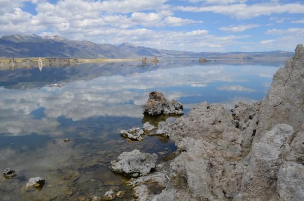 Mono Lake, Sierras