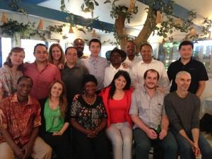 The executive training program's class of 2013.