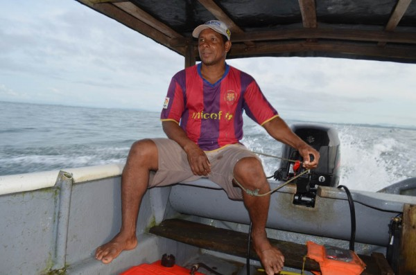 Marco, the captain, knows every reef, inlet and island around here—essential for getting in and out safely.