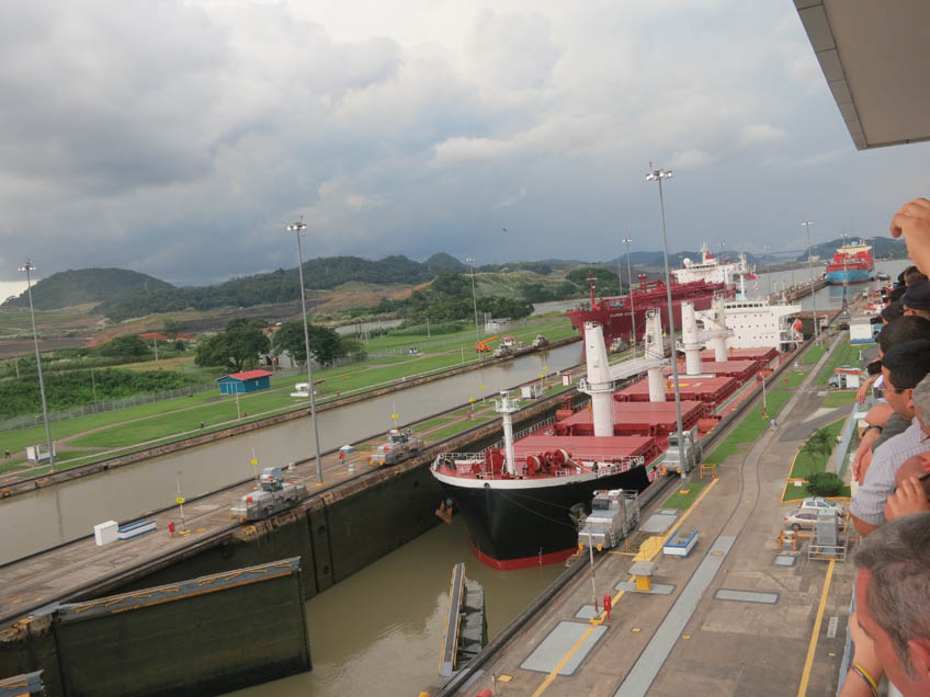 The narrowest point between the Pacific and Atlantic oceans, the isthmus is now split artificially by the Panama Canal—not only a major shipping route, but a big tourist attraction, at the Miraflores Locks Visitor Center. The canal was a boon for early 20th century geologists, who studied the excavations; an even bigger one is now being dug nearby, helping revive research.