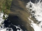 dust plume, Australia, Pacific Southern Ocean