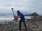 Geologists are investigating igneous rocks from the deep earth that helped build the land bridge that joins North and South America. These are most visible along the windswept western coast of Panama. CLICK TO SEE A SLIDESHOW OF THE WORK