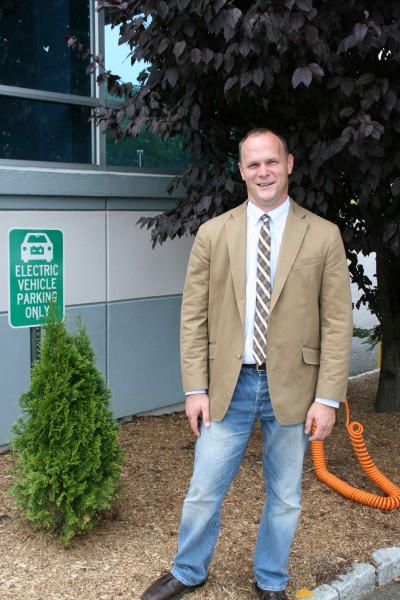 MS in Sustainability Management alumnus Stephen Marlin ('12)