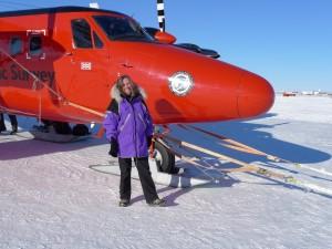 Lamont-Doherty scientist Robin Bell in Antarctica